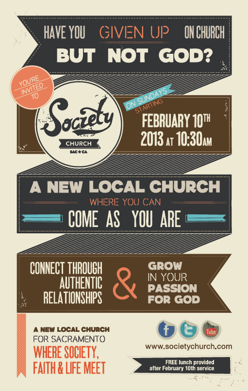 FIND DIRECTIONS HERE : http://societychurch.com/about/location/