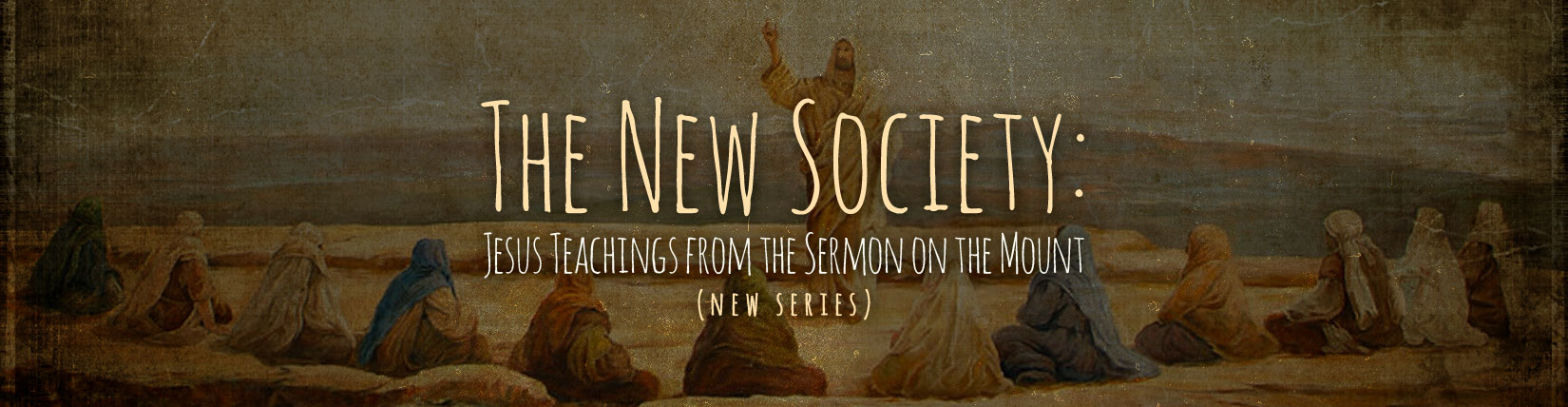 The New Society- Week 1