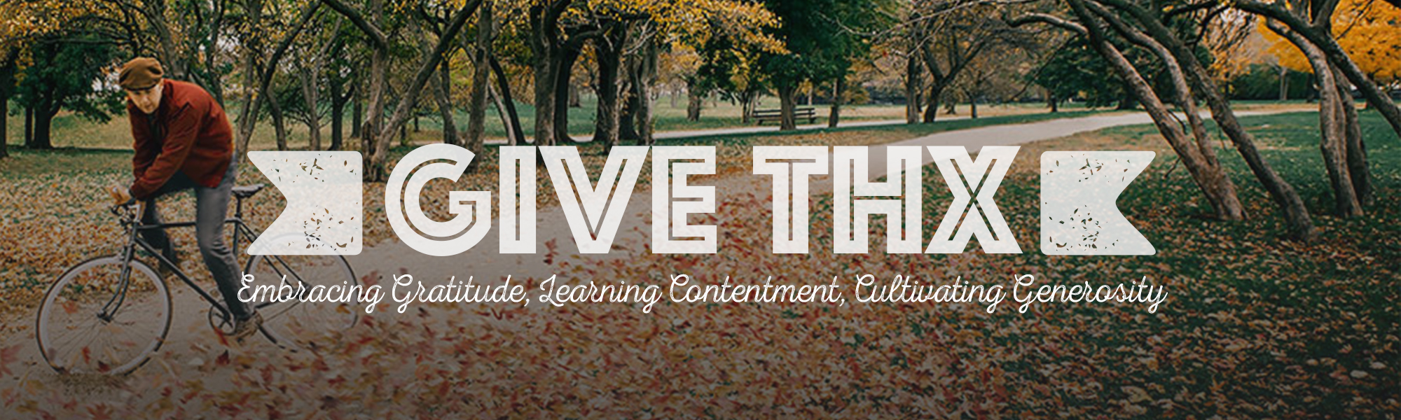 Give Thx: Week 1
