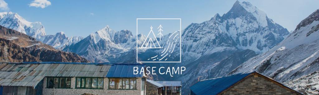 base camp banner