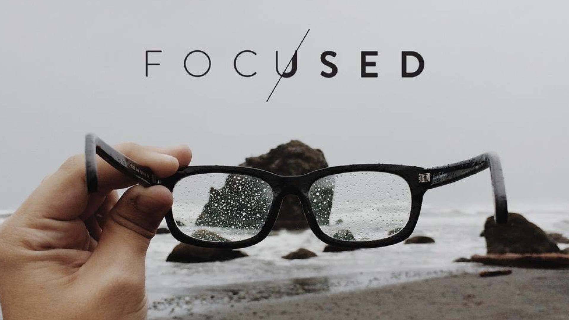 focused title